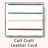 Calf Craft Leather Cord