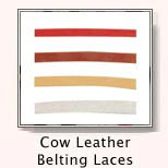 Cow Leather Belting Cord